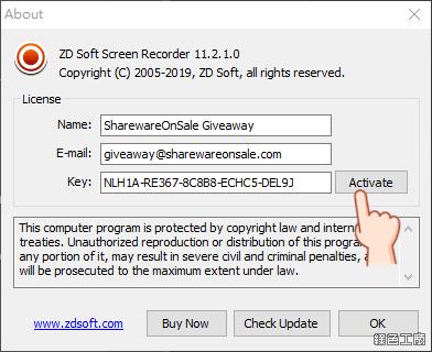 ZD Soft Screen Recorder 專業螢幕錄影工具