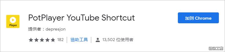 PotPlayer YouTube Shortcut