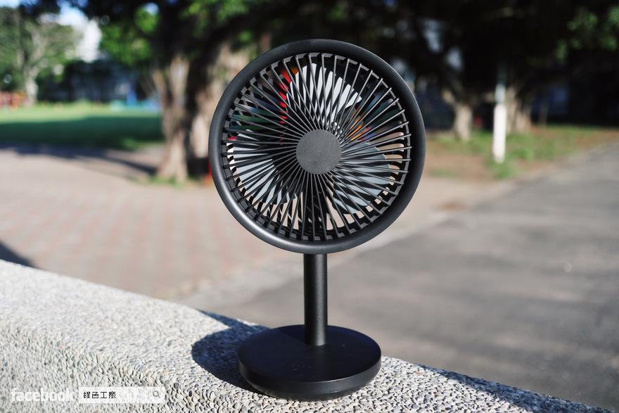開箱 SOLOVE 素樂 臺式風扇
