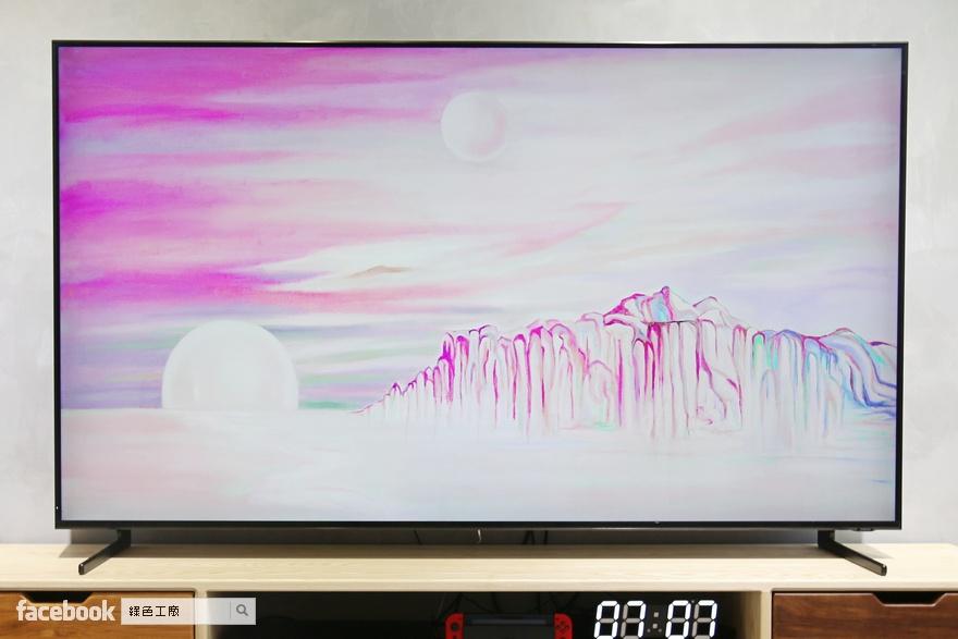 75吋 Samsung 8K QLED 量子電視開箱文