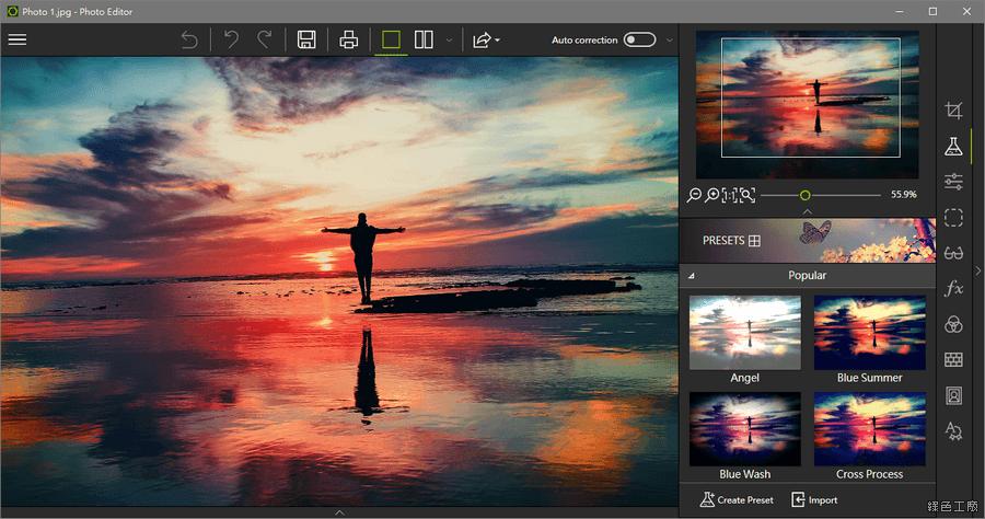 限時免費 inPixio Photo Editor 9 圖片編輯工具