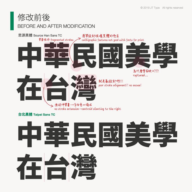 台北黑體免費下載