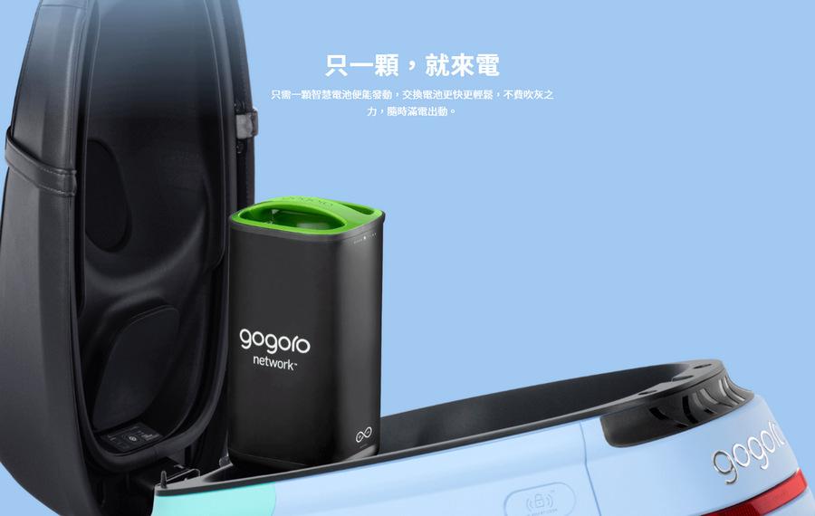 Gogoro VIVA 綠牌電動機車