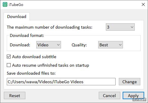 iTubeGo YouTube Downloader 限時免費 Free License
