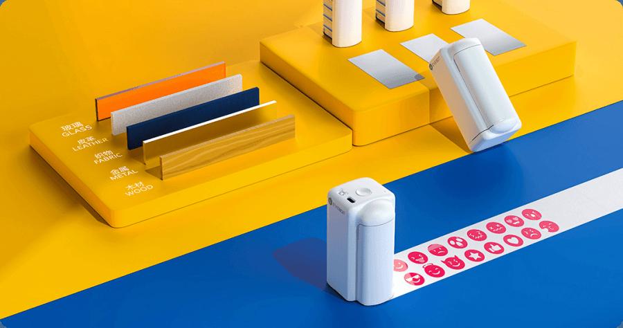小米有品 億瓦 PrintPods 手持 DIY 印表機,隨身印表機超乎你的想像