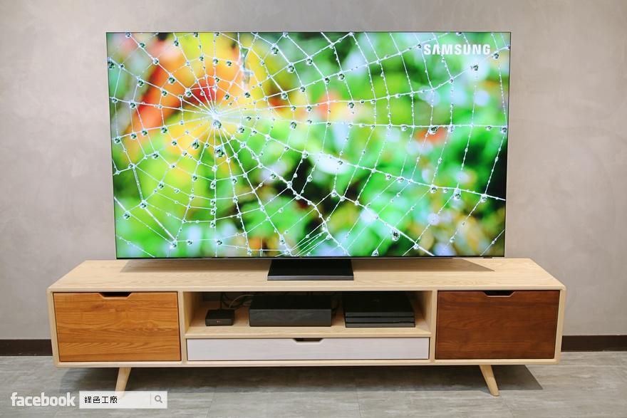 開箱心得 2020 85型 QLED 8K 量子電視 Q950TS