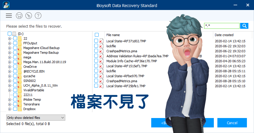 Boysoft Data Recovery 檔案救援工具