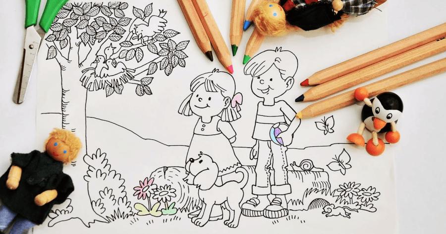 SuperColoring 免費列印孩童塗鴉本,近 5 萬種著色圖可讓孩子畫出全世界!
