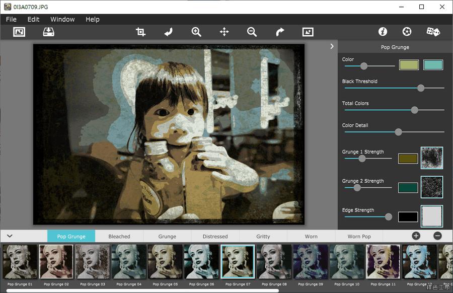 Grungetastic 老照片電腦工具軟體 Windows Mac