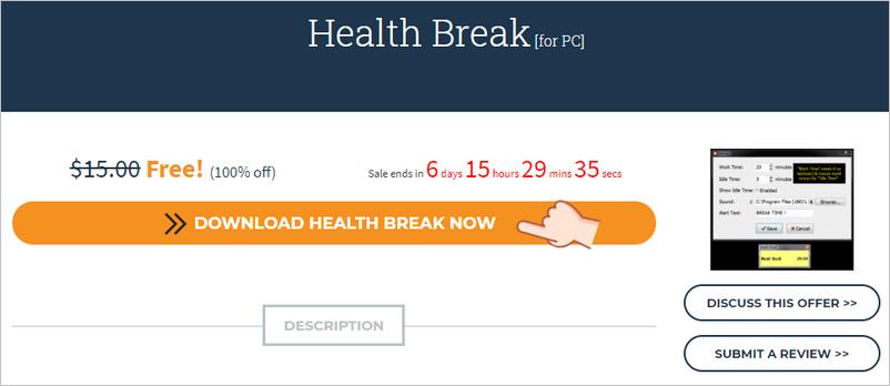 Health Break 電腦工作休息工具