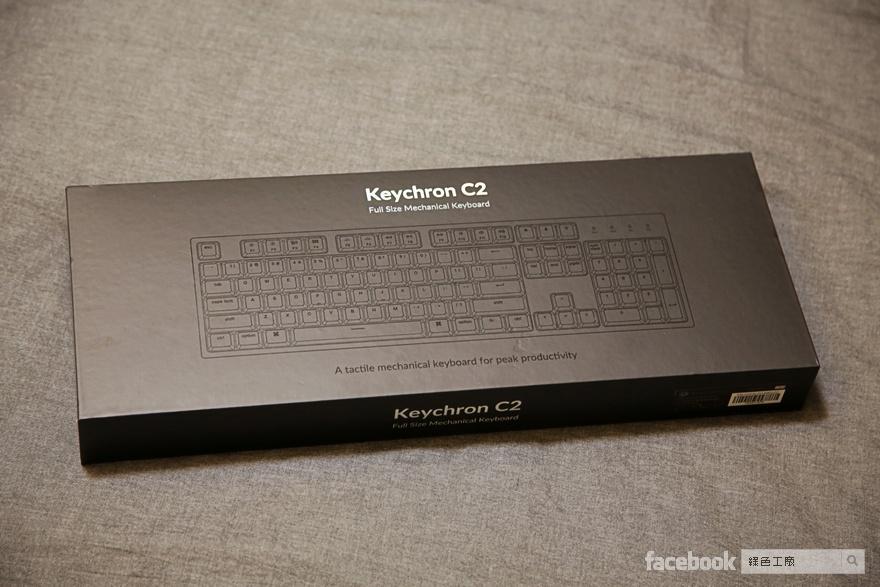 Keychron C1/C2 機械鍵盤好用嗎?開箱推薦