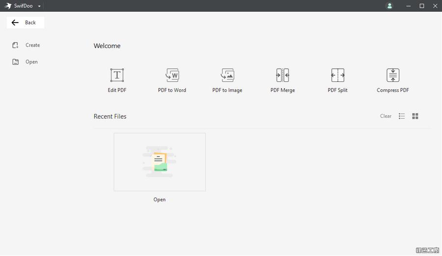 SwifDooPDF PDF 編輯轉檔瑞士刀工具