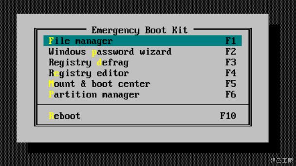 Emergency Boot Kit 系統開機光碟 USB 救援工具