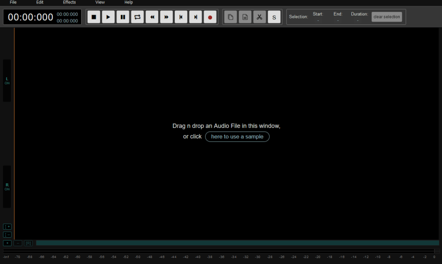 AudioMass 免費線上音訊編輯器,在網頁就能編輯音樂檔