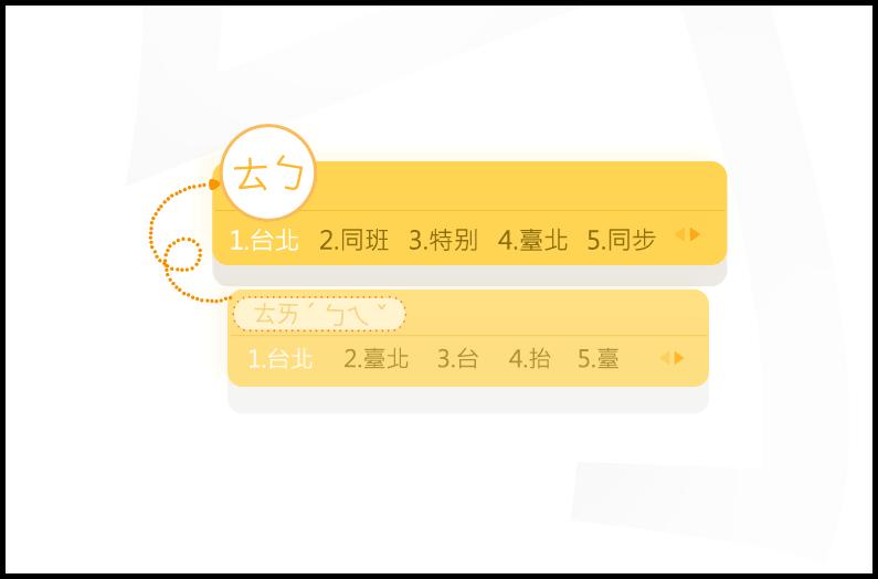 搜狗注音輸入法!給你最準確最省時的簡拼及省略聲調軟體