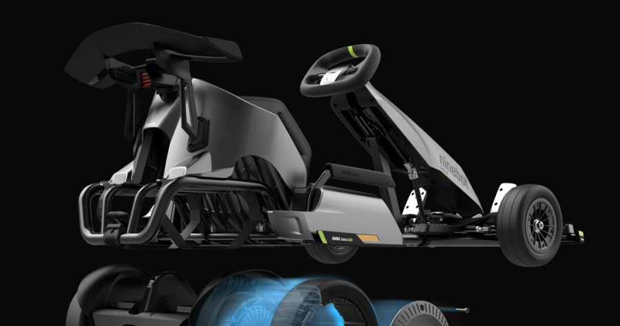 Ninebot 九號卡丁車 Pro 最高時速 37 公里,男孩的玩具進化了!