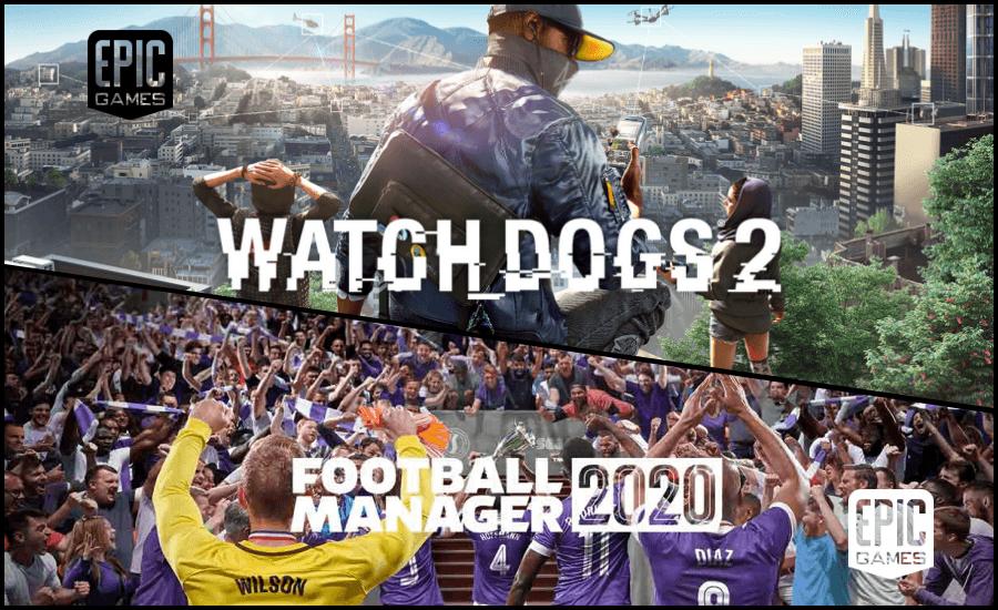 EPIC Games 本周祭出兩大好禮《Watch Dogs 2》與《足球經理 2020》,現在下載終身暢玩喔 !