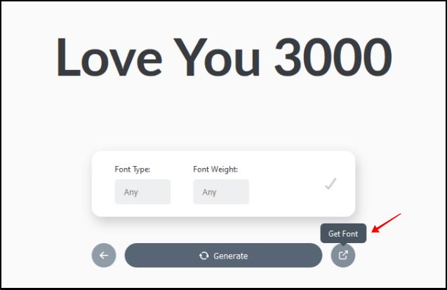 FontSpark 隨機英文字體產生器,找尋英文 LOGO 靈感的好地方 !