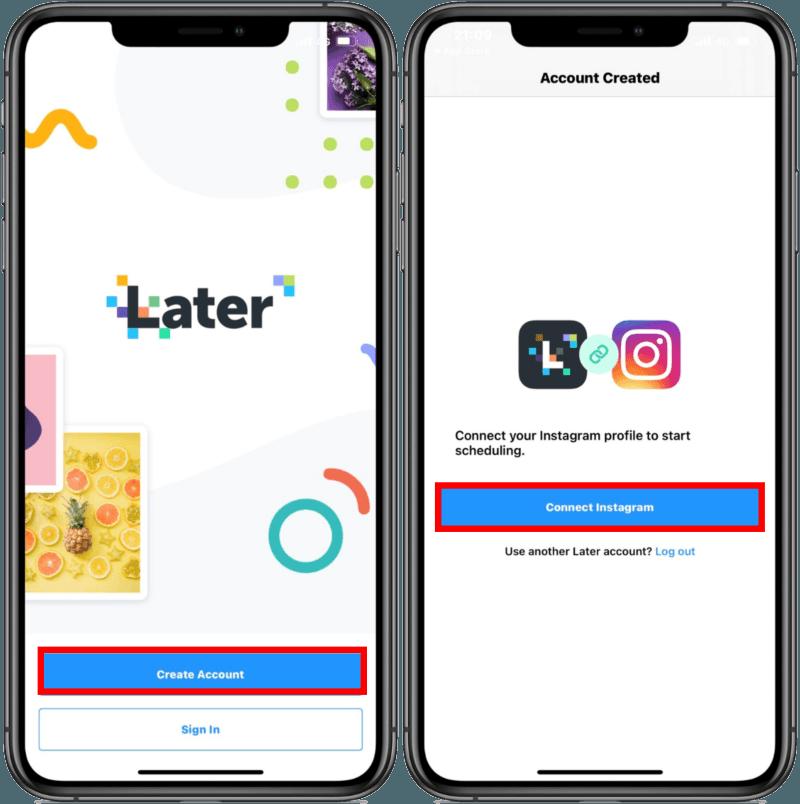 Later ! 專為 Instagram 量身訂做的貼文排程 App