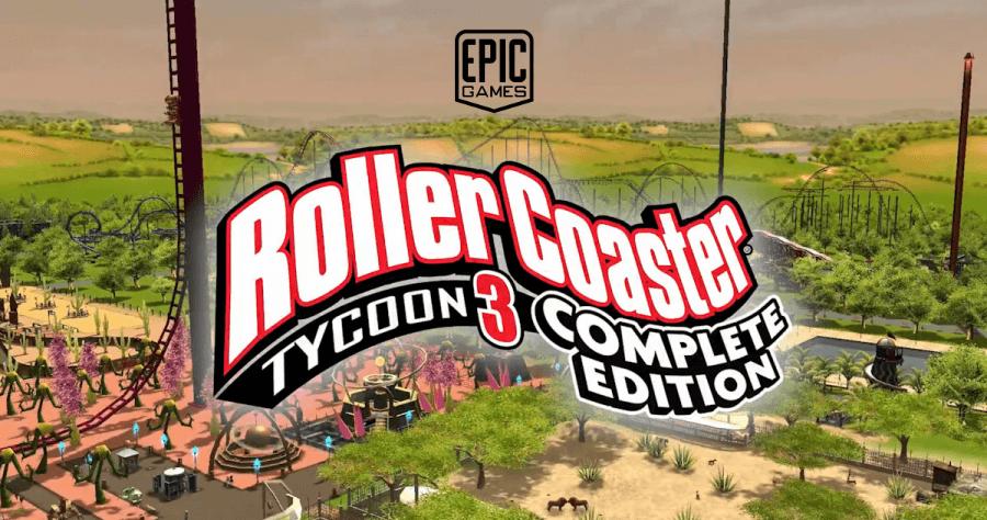 Epic Games 限時免費 《 模擬樂園 3:完整版 》 自己的遊樂園自己打造