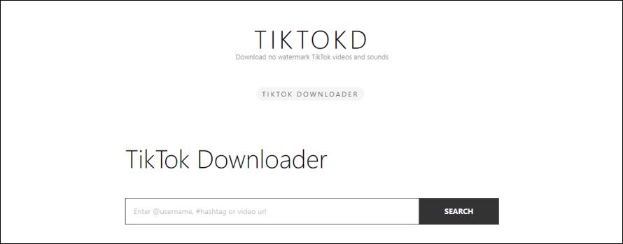 100% 無水印 TikTok 影片及聲音下載器,電腦/手機皆可使用!