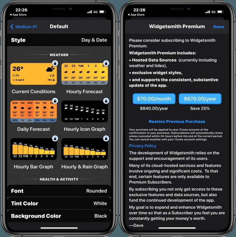 Widgetsmith 能夠讓 iPhone 小工具變更全新樣貌的 App