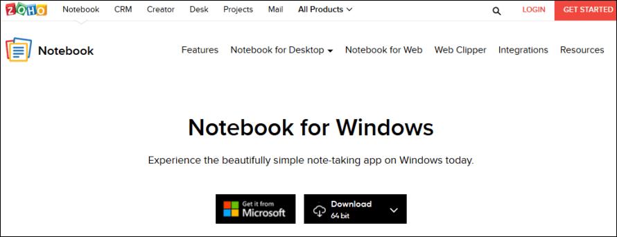Zoho Notebook 免費筆記工具,支援手機 APP 及瀏覽器