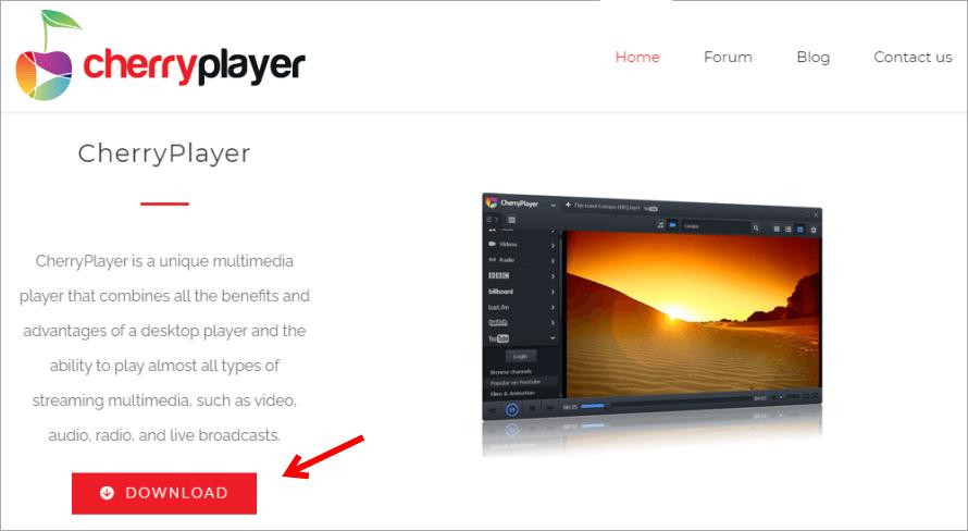 CherryPlayer 超強影音播放器,可直接線上觀看 YouTube 無廣告影片及 MV!(Windows)