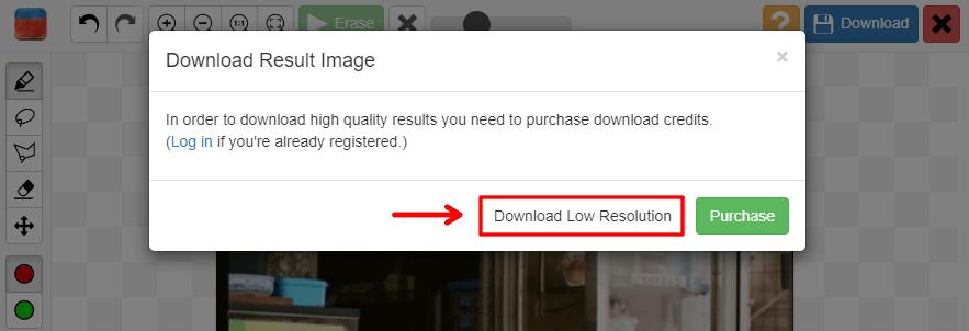 Inpaint 免費線上照片修圖工具,不管是臉上痘痘、物品、閒雜人物都可輕鬆去除!