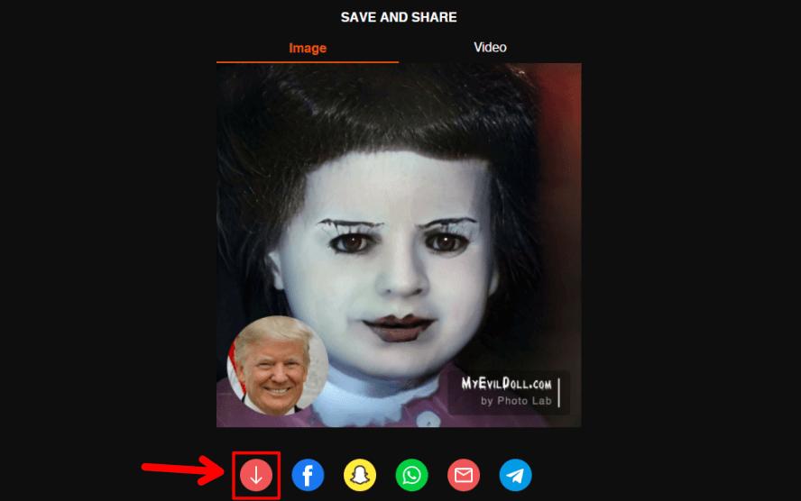 My Evil Doll 恐怖鬼娃頭像產生器,讓你在萬聖節當天成為社群平台焦點!