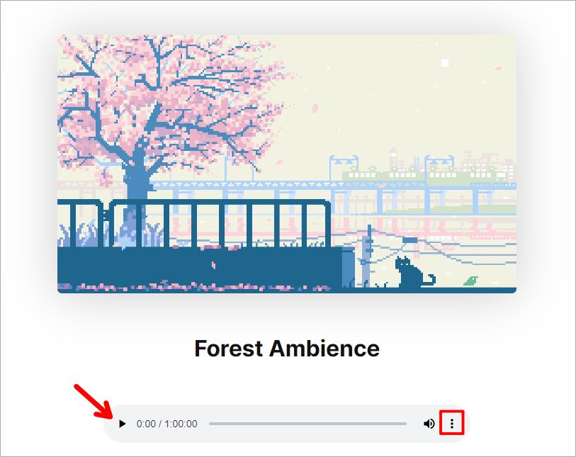 Noize - 10 種讓心情放鬆的可愛 GIF 動圖環境白噪音免費線上播放器