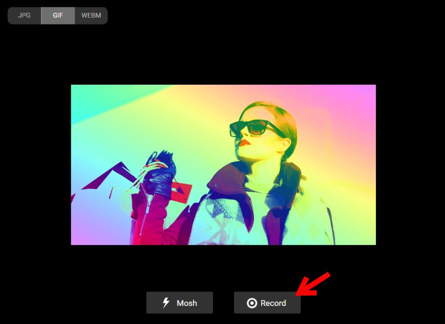 PhotoMosh 故障藝術產生器,輕鬆幫照片升級成故障藝術照!