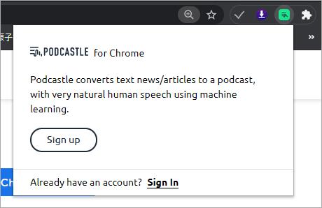Podcastle AI!能夠將英文文章用好聽的 AI 人聲自動轉成 Podcast 的好工具