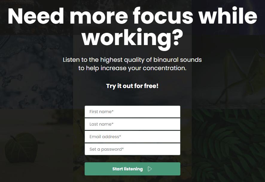 Spaces.fm 擁有 9 種超優質的大自然音效,讓你在讀書或工作上更能專注!