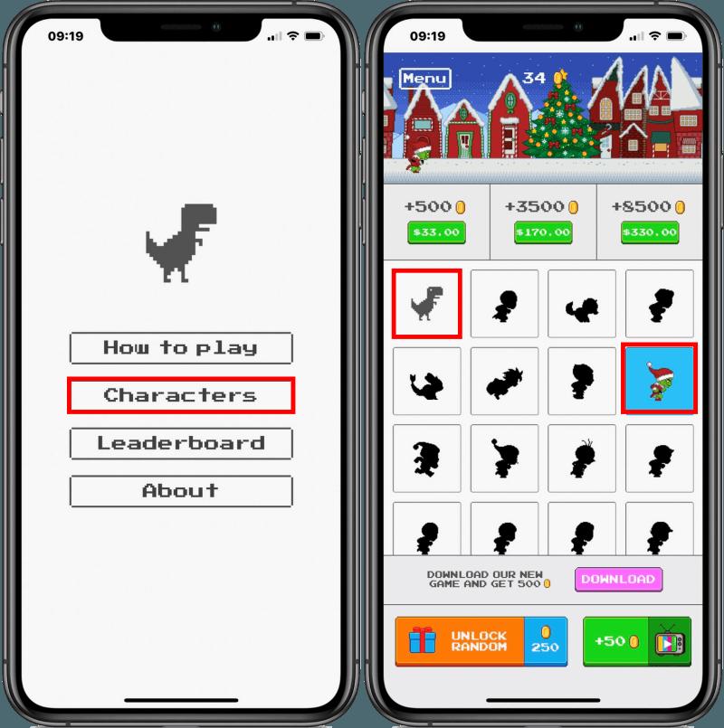 Steve 小恐龍遊戲 App,隨時隨地都能直接在 iPhone 小工具上遊玩