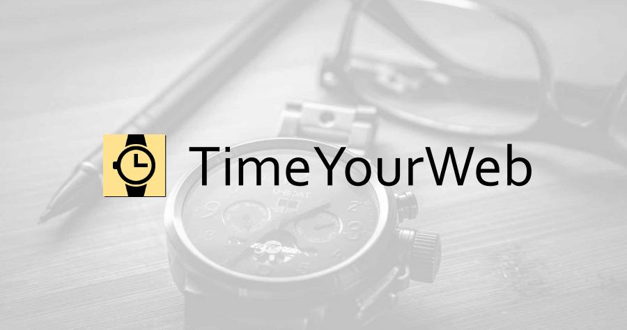 TimeYourWeb 網頁停留紀錄工具,讓你知道把時間花在哪些網站上!