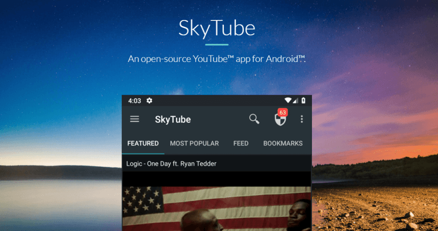 SktTube 免費觀賞無廣告 YouTube App,可背景播放音樂及影片下載!(Android)