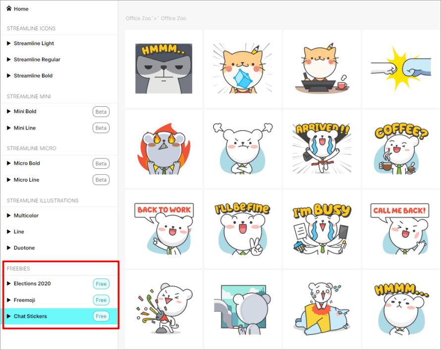 Streamline 優質又豐富的簡報圖示、貼圖素材庫,可免費下載並支援 PNG、SVG、PDF 檔!