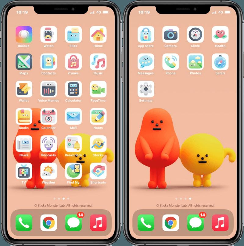 moloko 自動更換 iCON 圖示 App,讓 iPhone 不再靠捷徑來更換!