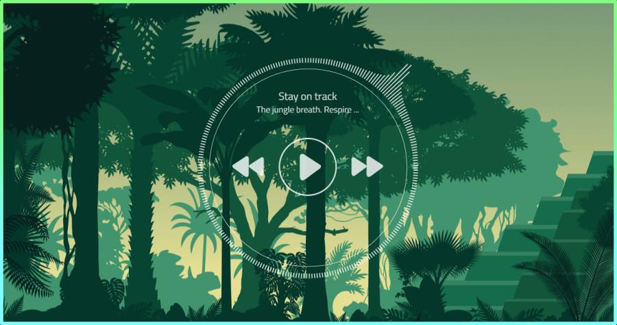 The jungle breath 叢林白噪音產生器,不僅能放鬆還讓你更好眠!