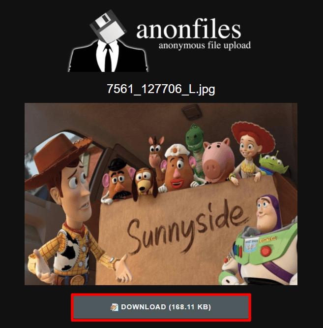 Anonfiles 免費線上檔案分享平台,最大可上傳 20 GB 檔案!