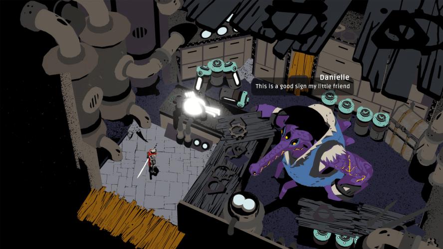 《Creature in the Well》像極彈珠檯風格的好評迷宮探索砍殺遊戲,限時免費中!