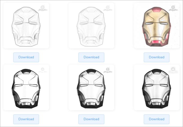 Image to Sketch AI 線上圖片轉素描器!讓你一次擁有多張不同風格素描畫!