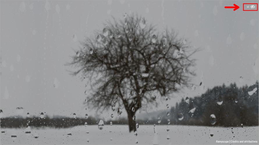 Rainyscope 舒服的季節雨聲白噪音,讓你沉浸在放鬆身心的雨聲之中!