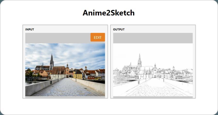 Anime2Sketch 免費線上圖片轉鉛筆素描工具,讓你一秒變成素描大師!
