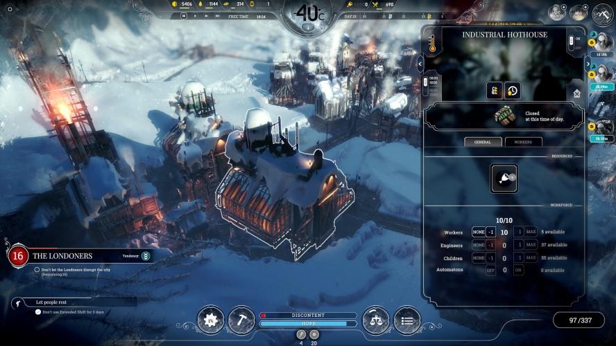 EPIC 本周極度好評遊戲《Frostpunk》限時免費中!不僅省下 $429 元,還可永久免費暢玩!