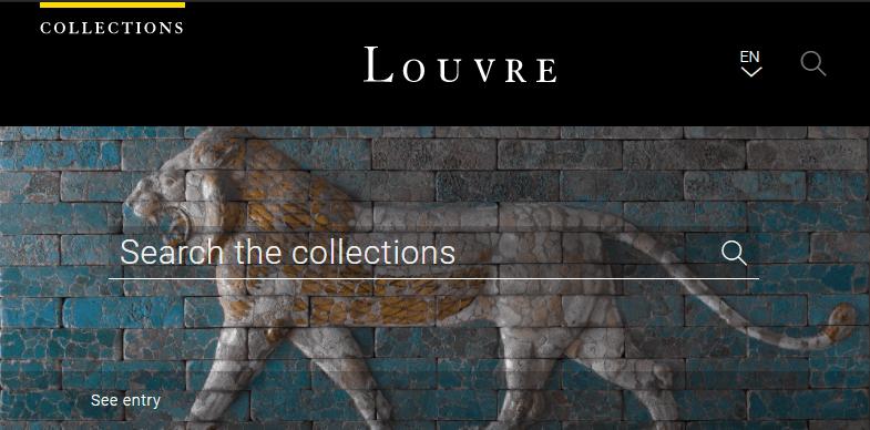 法國羅浮宮線上歷史文物圖片網,共有 48 萬件作品讓你免費下載!