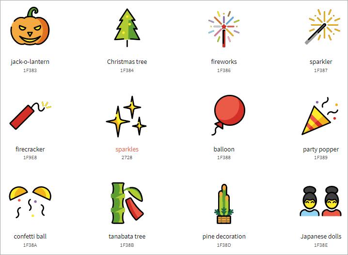 OpenMoji 免費商用 Emojis 網站,共有 3678 圖示並支援 SVG、PNG 格式!