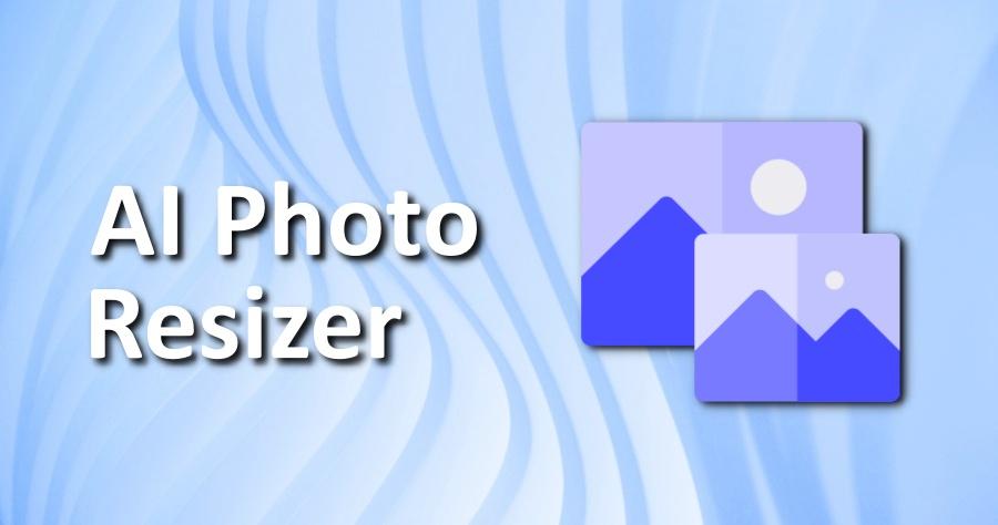 AI Photo Resizer 免費線上放大圖片工具,自動除躁放大兩倍也不失真!