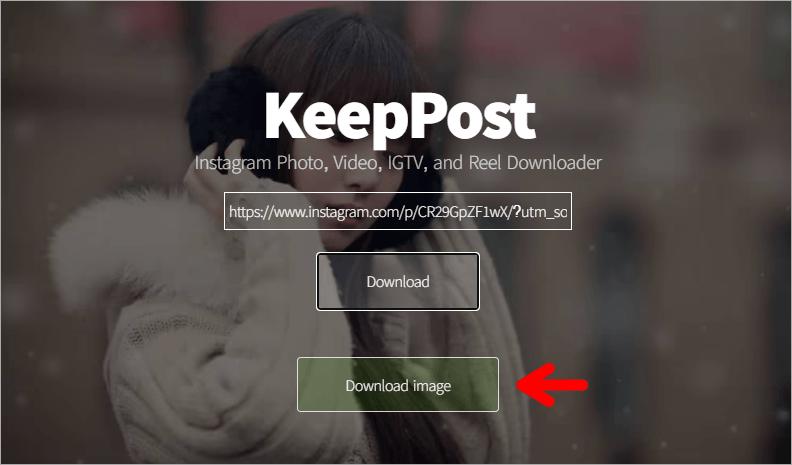 KeepPost 超好用的線上 IG 照片/影片下載器,一鍵輕鬆下載就是這麼簡單!